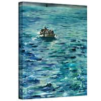 Art Wall Edouard Manet 'The Escape of Henri de Rochefort 20 March 1874' Gallery-wrapped Canvas