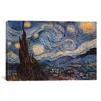 iCanvas Vincent Van Gogh 'The Starry Night' Art Canvas Print Wall Art