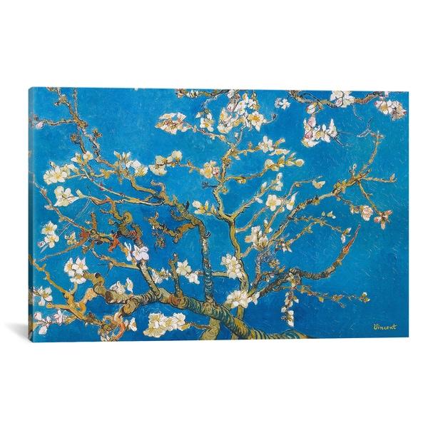 iCanvas Vincent Van Gogh 'Alomond Blossom' Canvas Print Wall Art