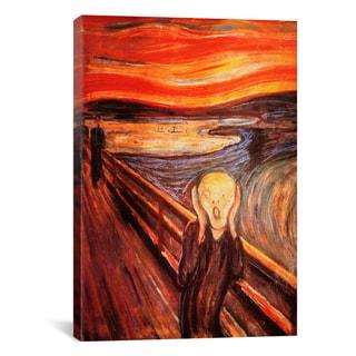 iCanvas Edvard Munch 'The Scream' Canvas Print Wall Art