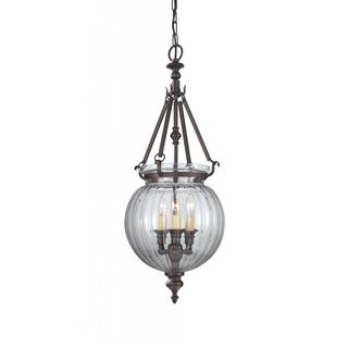 Oil Rubbed Bronze 3-light Luminary Chandelier