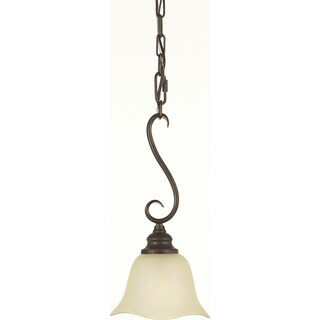 Grecian Bronze 1-light Morningside Mini Pendant