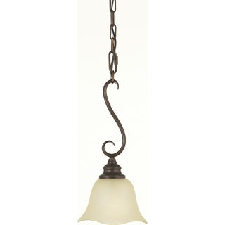 Grecian Bronze 1-light Morningside Mini Pendant