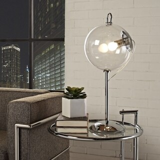 Modway 'Cheer' Transparent Glass Shade Modern Table Lamp