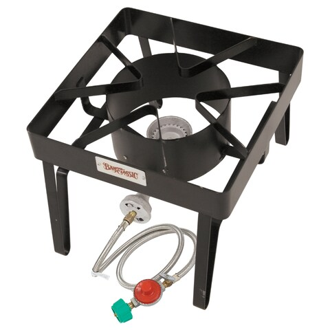 Bayou Brew Cooker with 360-degree Windscreen Protection