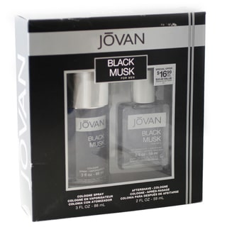 Coty Men's Jovan Black Musk 2-piece Gift Set