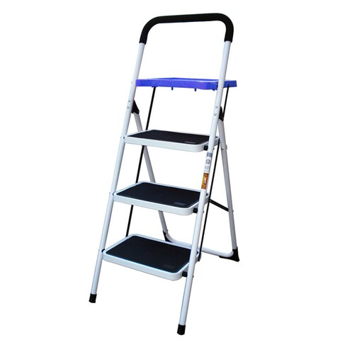 AmeriHome 3-step Utility Stool with Tray