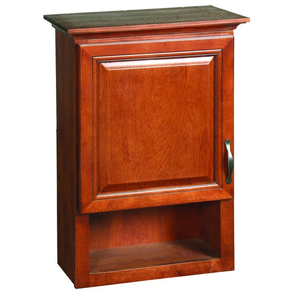 Montclair Chestnut Glaze Wall Cabinet Free Shipping Today 15872590