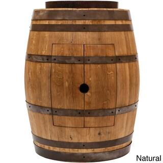 Premier Copper Products Wine Barrel Skirted Vessel Sink Vanity Set (2 options available)