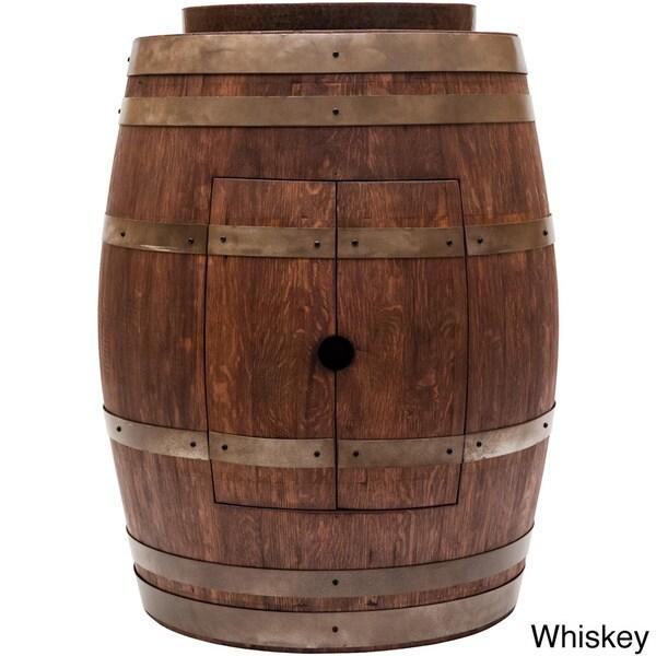 Premier Copper Products Wine Barrel Skirted Vessel Sink Vanity Set