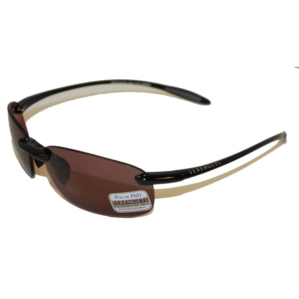 c34054f56e Shop Serengeti Nuvola Shiny Black Polarized Sedona Sunglasses - Free ...