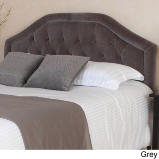 Angelica Adjustable Full/ Queen Tufted Fabric Headboard by Christopher Knight Home (4 options available)