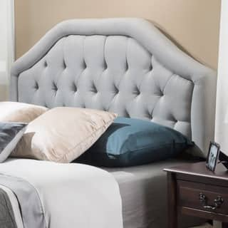 Angelica Adjustable Full/ Queen Tufted Fabric Headboard by Christopher Knight Home|https://ak1.ostkcdn.com/images/products/8603627/P15873002.jpg?impolicy=medium