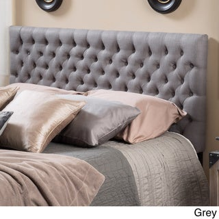 Bolton Adjustable Full/ Queen Tufted Fabric Headboard by Christopher Knight Home