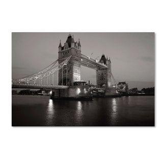 Chris Bliss 'Tower Bridge I' Canvas Art