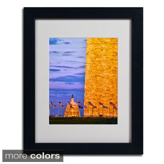 CATeyes 'America' Framed Matted Art