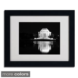 CATeyes 'Jefferson Memorial' Framed Matted Art