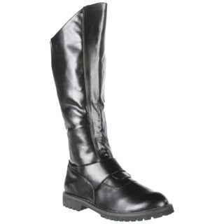 Funtasma Men's 'Gotham-100' Black Knee-high Boots