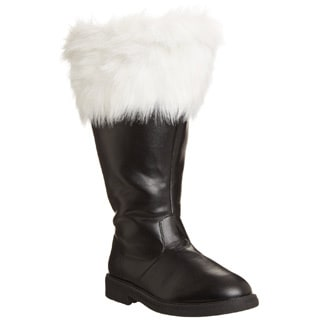 Funtasma Men's 'Santa-106WC' Black/ White Fur Top Boots