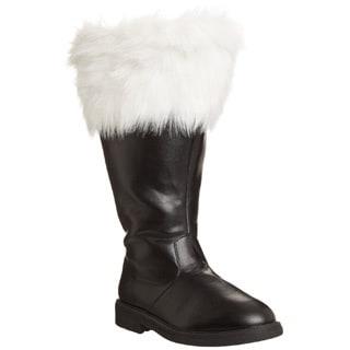 Funtasma Men's 'Santa-106WC' Black/ White Fur Top Boots