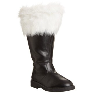 Funtasma Men's 'Santa-106WC' Black/ White Fur Top Boots (4 options available)