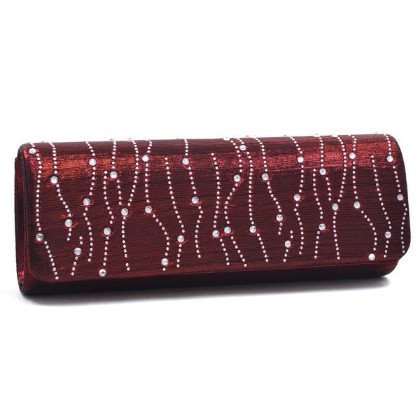 Dasein Rhinestone Detailed Evening Clutch