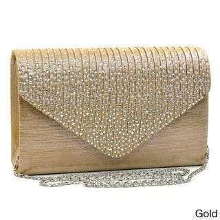 Buy Gold Clutches   Evening Bags Online at Overstock  3793cb391321