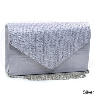Buy Silver Clutches   Evening Bags Online at Overstock  a441e3fcb