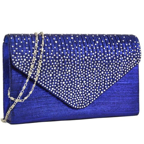 d5f49a89c1b7 Buy Blue Clutches & Evening Bags Online at Overstock | Our Best Shop ...