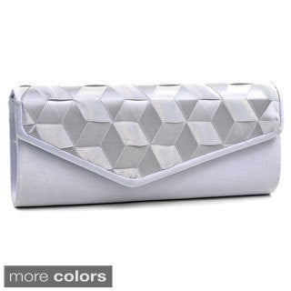 Dasein Woven Ribbon Evening Clutch