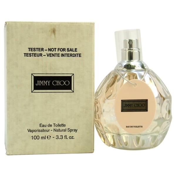 b851df8278c9 Shop Jimmy Choo Women s 3.3-ounce Eau de Toilette Spray (Tester) - Free  Shipping On Orders Over  45 - Overstock - 8604243