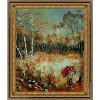 Pol Ledent 'Autumn 45211170' Framed Fine Art Print