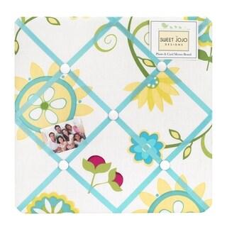 Sweet Jojo Designs Layla Fabric Photo Bulletin Board