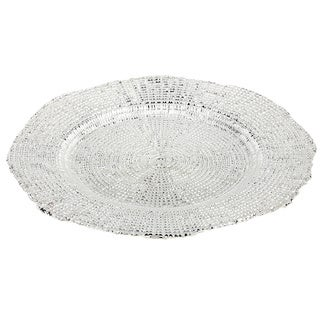IMPULSE! Eternity Silver Dinner Plates (Set of 4)
