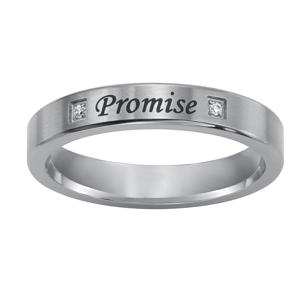 Cambridge Sterling Silver Diamond Accent Engraved Purity ...