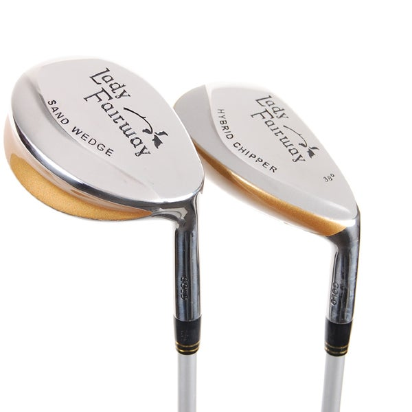 Adams Lady Fairway Golf Chipper and Sand Wedge