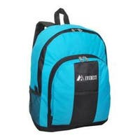 Everest Backpack with Front and Side Pockets (Set of 2) Turquoise