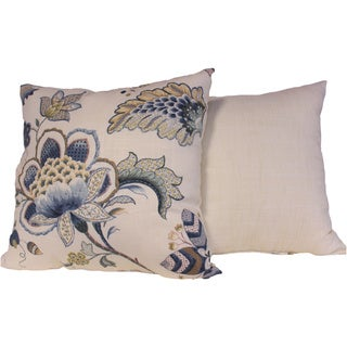 Portobello Porcelain Throw Pillows (Set of 2)