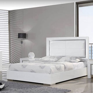 White Bed in Queen Or King Size