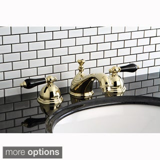 Milano Widespread Chrome Polished Brass Bathroom Faucet