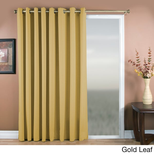 glasgow grommet 84inch extra wide curtain panel 112 x 84 free shipping today