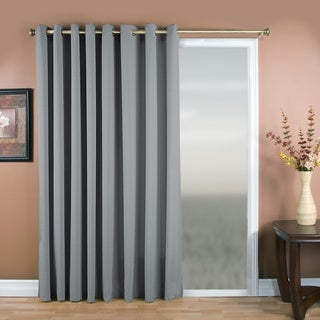 Glasgow Grommet 84inch Extra Wide Curtain Panel 112 X 84