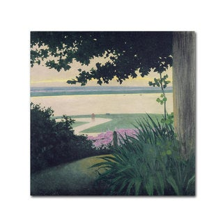 Felix Vallotton 'Honfleur and the Baie' Canvas Art