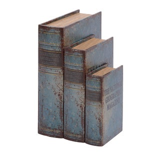 Oliver & James Buri Faux Book Box Set