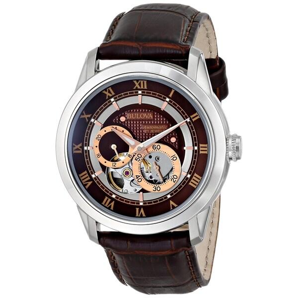 Bulova Men's 96A120 'BVA' Stainless Steel Watch