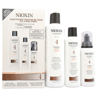 Nioxin System 4 Noticeably Thinning Hair 3-Piece Kit