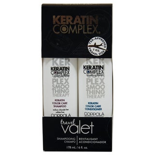 Keratin Complex Travel Valet Color Care 2-Piece Kit