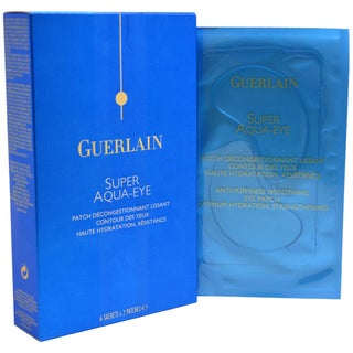 Guerlain Super Aqua Eye Anti Puffiness Smoothing Eye Patch 6 Sachets x 2 Patches