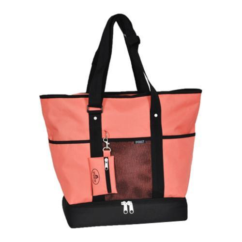 Shop Everest Deluxe Shopping Tote Coral Free Shipping On