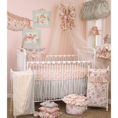 Floral Crib Bedding Set Tea Party 7-piece Set